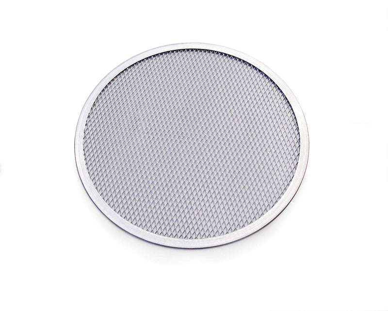 Australia New Star Foodservice 50677 Seamless Aluminum Pizza Screen, Commercial Grade, 12-Inch