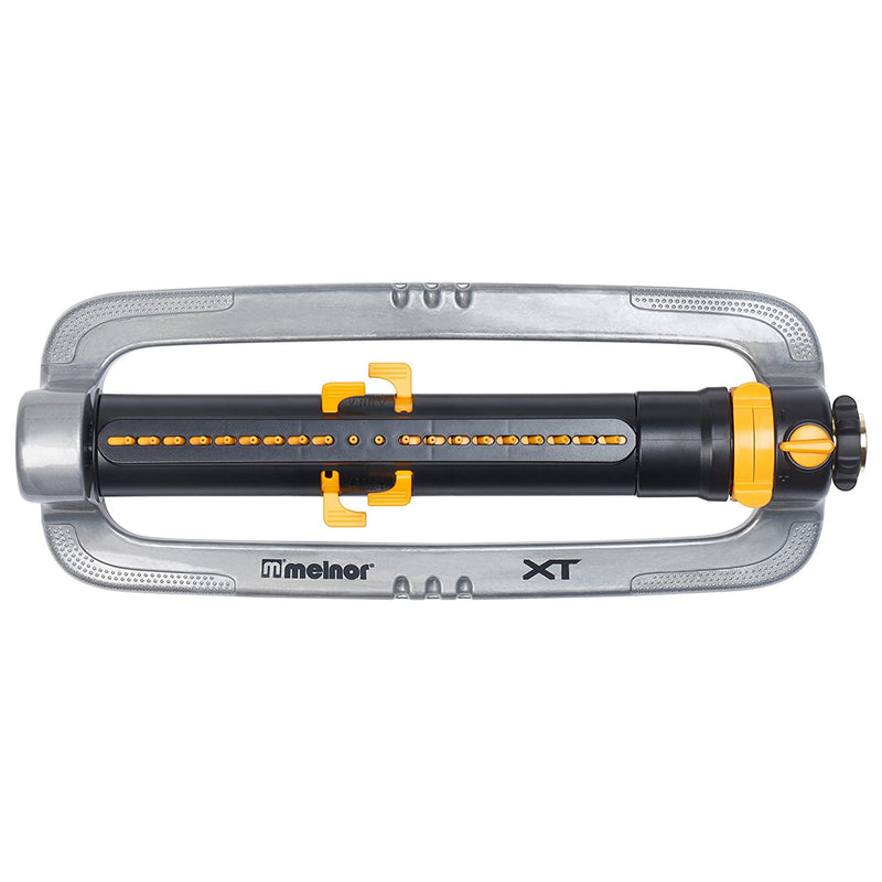 Australia Melnor XT Metal Oscillating Lawn Sprinkler with Width, Range and Flow Control, Waters up to 4,200 sq.ft.