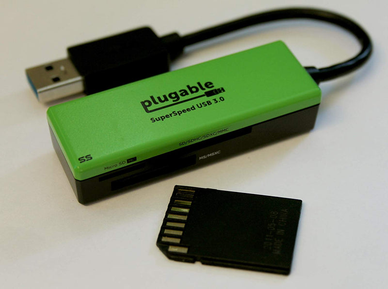 Australia Plugable SuperSpeed USB 3.0 Flash Memory Card Reader for Windows, Mac, Linux, and Certain Android Systems Australia