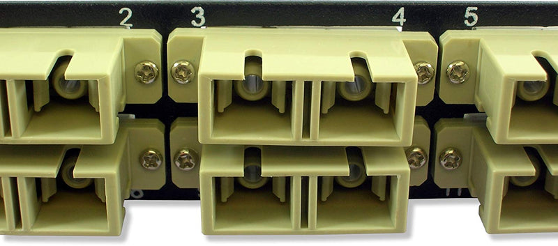 Australia Lynn Electronics 12 Fiber SC Multimode Adapter Strip, 6 Duplex SC Ports, LGX Footprint