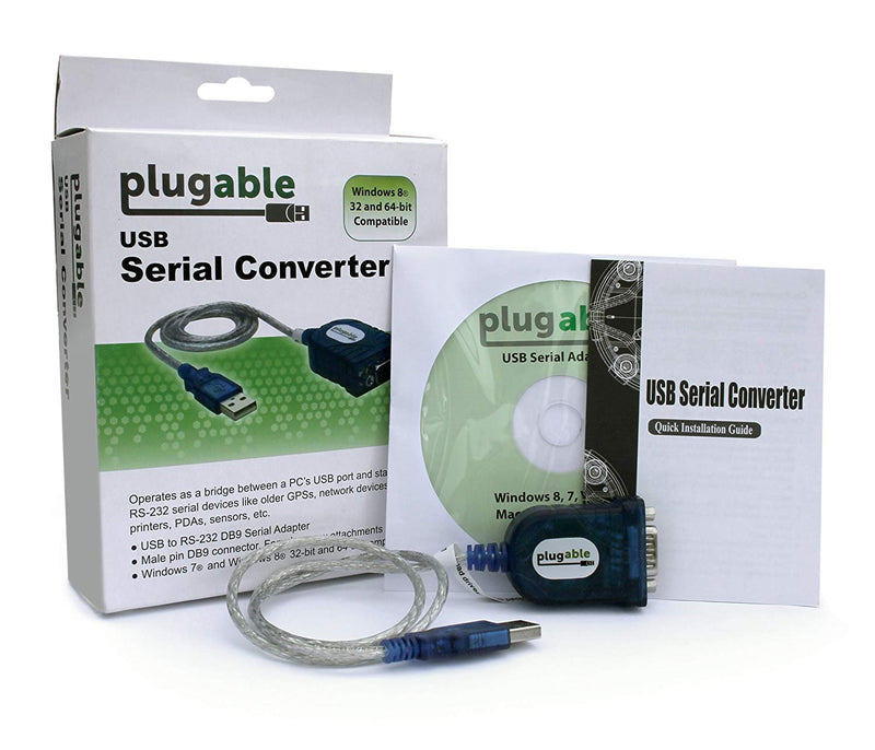 Australia Plugable USB to RS-232 DB9 Serial Adapter (Prolific PL2303HX Rev D Chipset) Australia