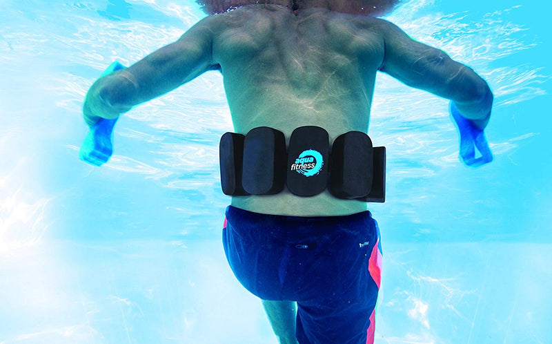 Aqua Fitness Flotation Belt, Adjustable Strap, Water Aerobics, Aquatic Low Impact Workout, Resistance Training