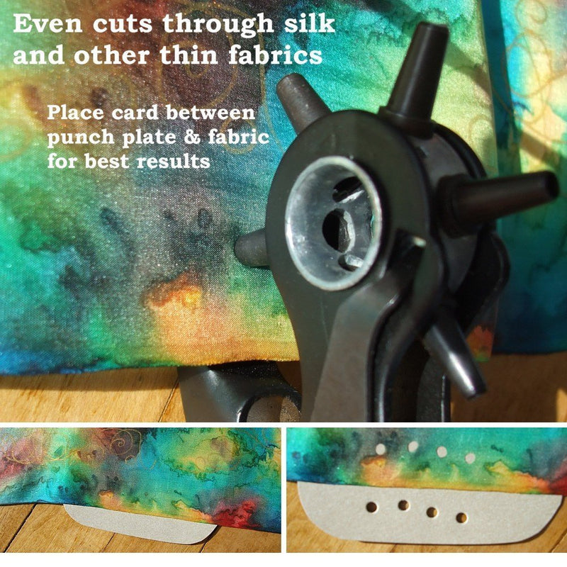 Australia Leather Hole Punch by Skilled Crafter Easily Punches Perfect Round Holes. FREE Ruler & Awl Tool. Our Best Professional Puncher for Belt, Saddle, Tack, Watch Strap, Shoe, Fabric, Eyelet etc + 2Yr Wrnty