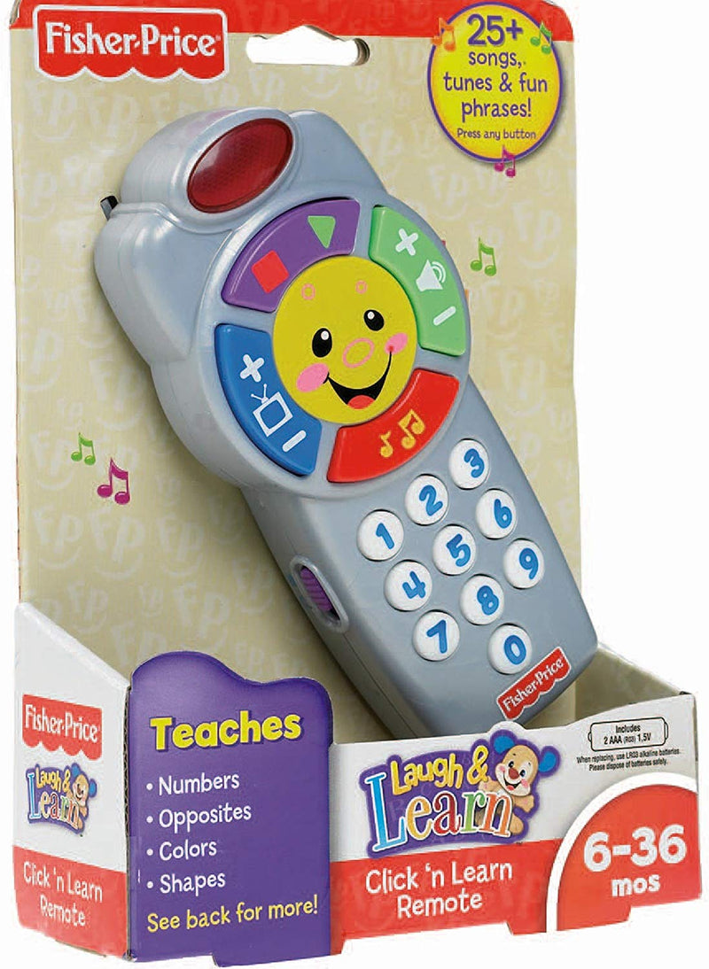 Australia Fisher-Price Laugh & Learn Click 'n Learn Remote
