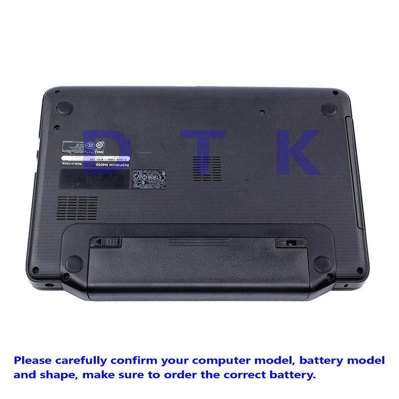 DTK New Laptop Battery for Dell Inspiron 3420 3520 N5110 N5010 N4110 N4010 N7110 N3010 M5110 M4110 M501 M503 Series, Fits P/n J1knd 4t7jn [6-cell 5200mah/49wh] - CocoonPower Australia