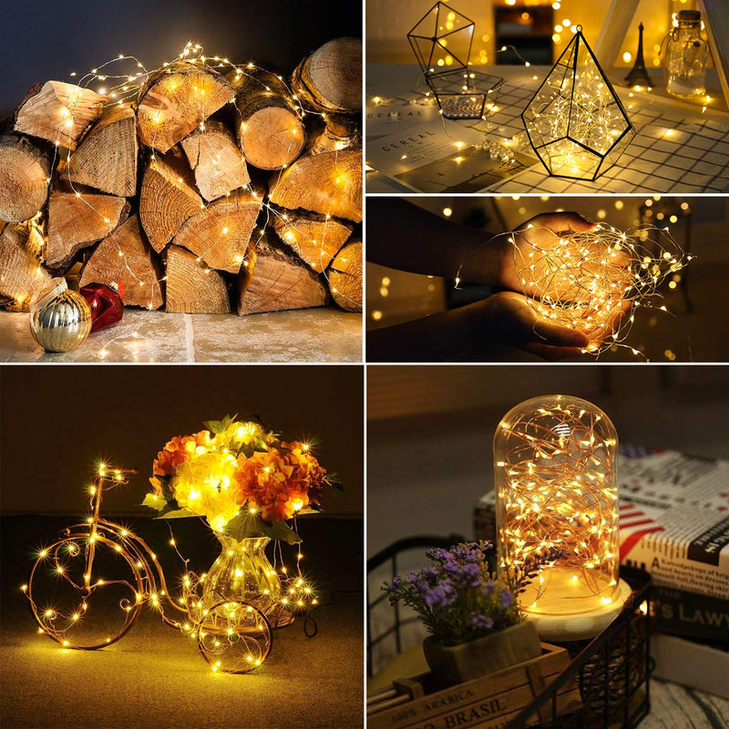 Australia Kohree Xmas light String Lights Remote Control and Timer 40 Foot 120 LEDs Fairy Light Waterproof Battery Powered Long Ultra Thin Copper Wire Lights Perfect for Holiday Xmas Decoration, Weddings