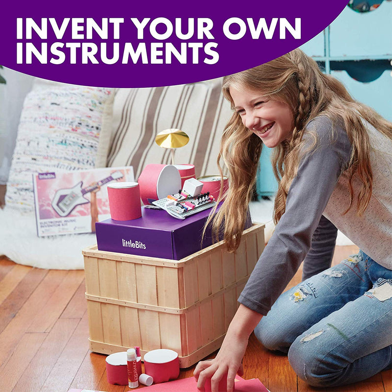 Australia littleBits Electronic Music Inventor Kit - Build, Customize, & Play Your Own Educational & Fun High-Tech Instruments!