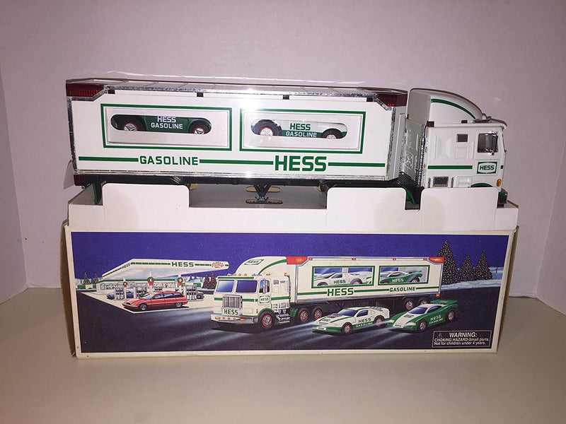Australia Hess 1997 Toy Truck with 2 Racers