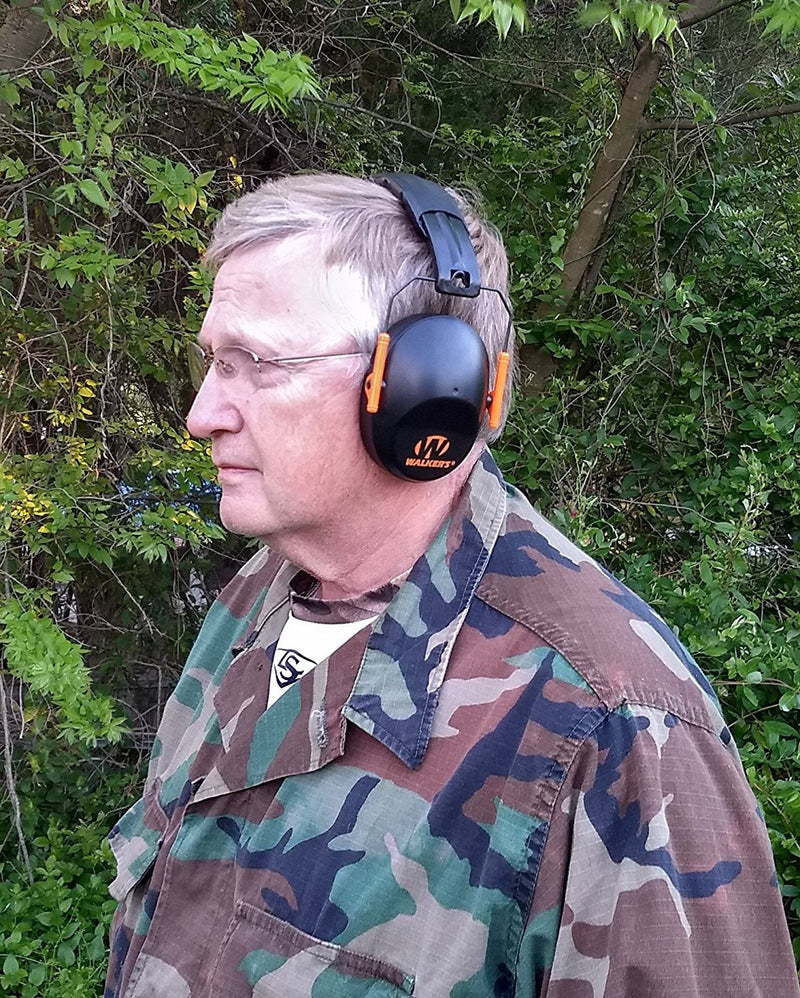 Australia Australia Walker's Hearing Protection Low Profile Passive Folding Muff Australia