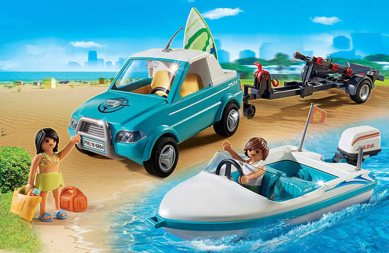 Australia PLAYMOBIL® Surfer Pickup with Speedboat