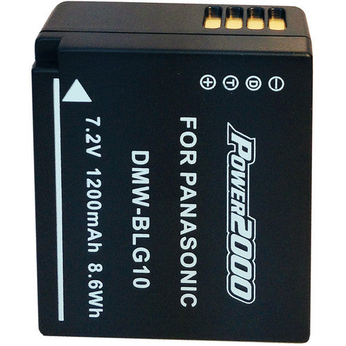 Australia Power2000 DMW-BLG10 Lithium-Ion Battery Pack for Select Panasonic LUMIX Cameras
