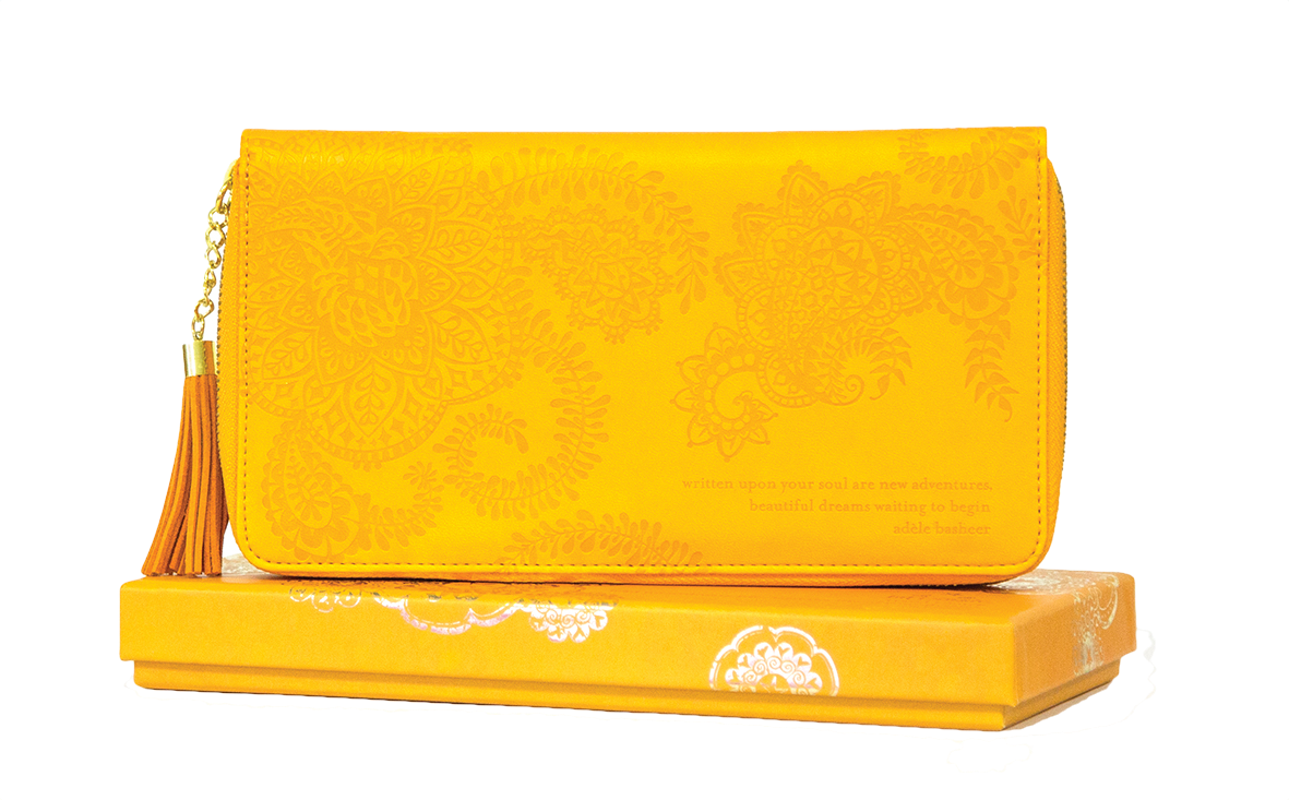 INTRINSIC l Marigold Travel Clutch