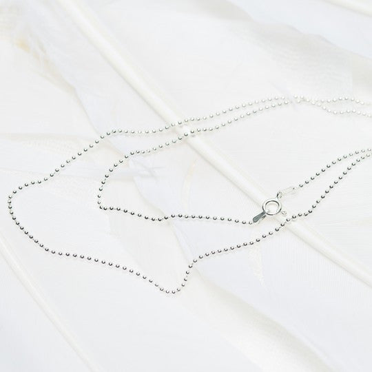 Ball Chain 90cm Necklace