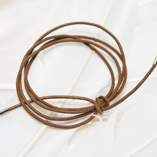 PALAS JEWELLERY | Natural Leather Lariat