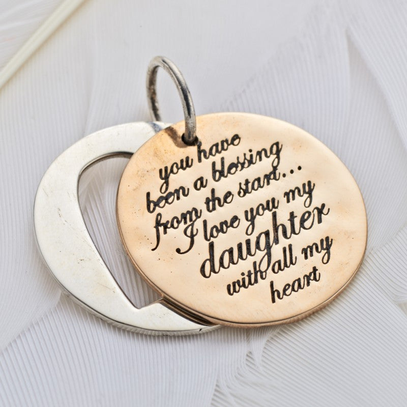 Blessings Daughter Slider Charm