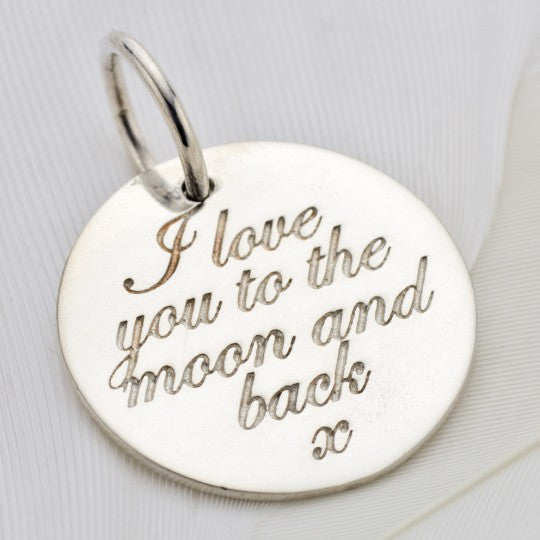 PALAS JEWELLERY | Moon and Back Charm