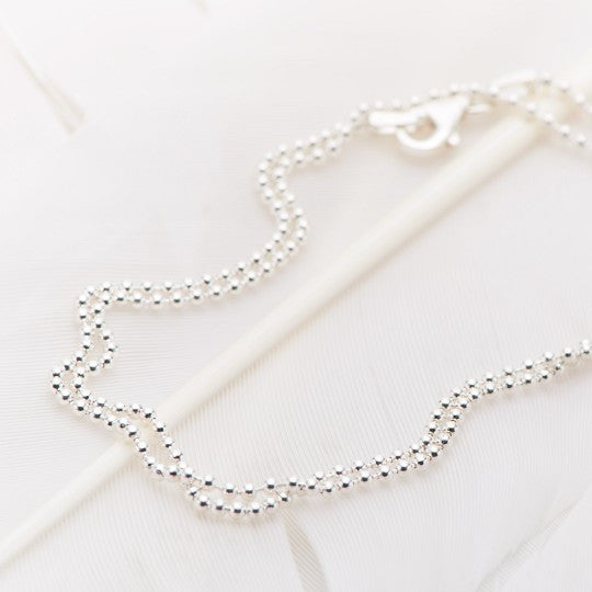 Ball Chain 40cm Necklace
