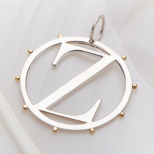 Z Cut Out Initial Charm