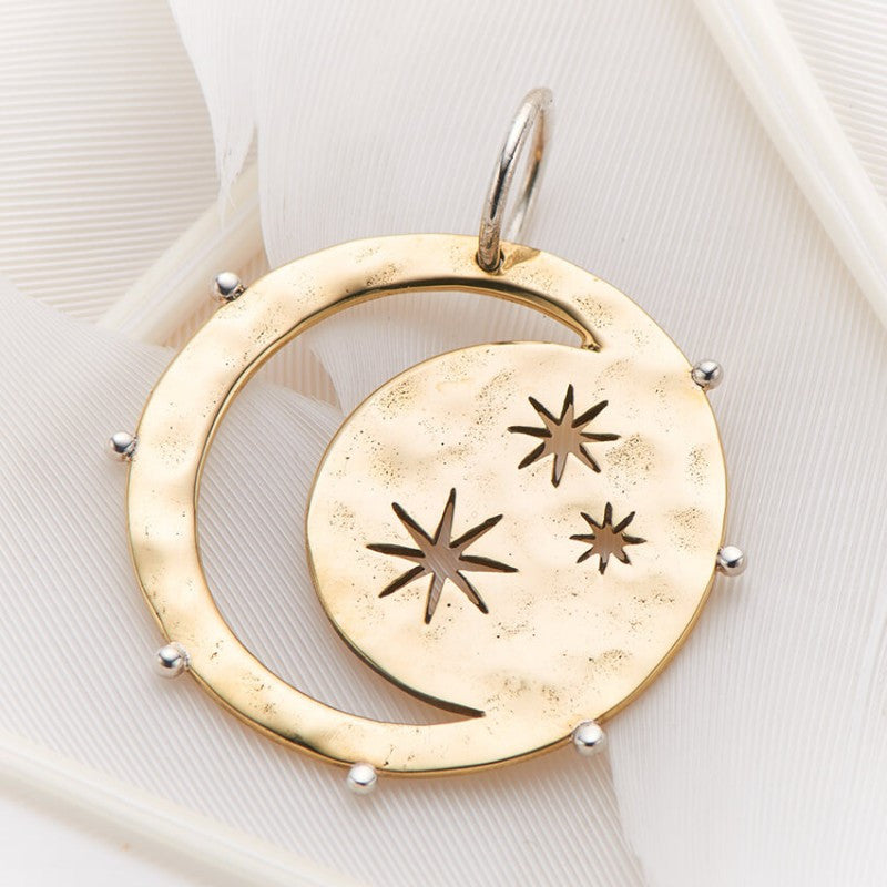 PALAS JEWELLERY | Moon and Stars Charm