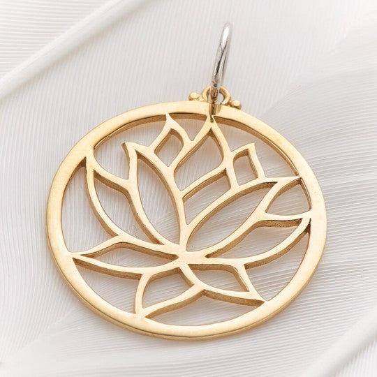 PALAS JEWELLERY | Lotus Circle Charm