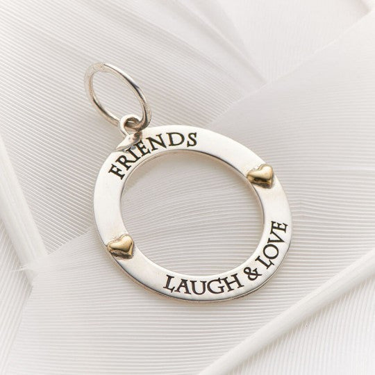 PALAS JEWELLERY | Friends Laugh Love Charm