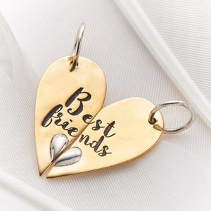 PALAS JEWELLERY | Best Friends Heart Halves
