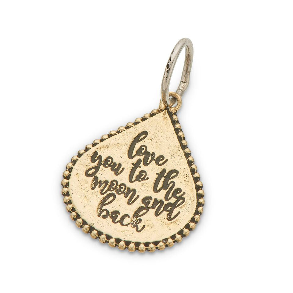 PALAS JEWELLERY | Love You To The Moon & Back Charm