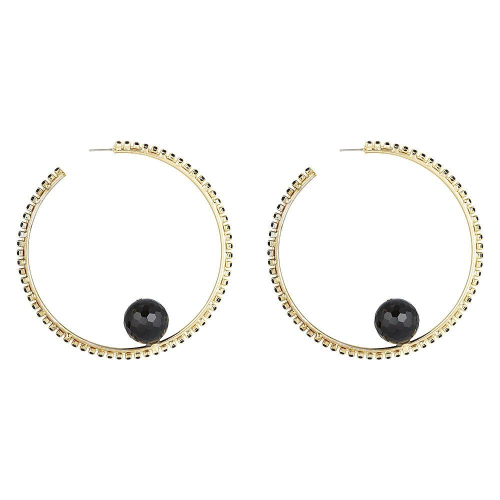 PETER LANG | Horizon Earrings - Black