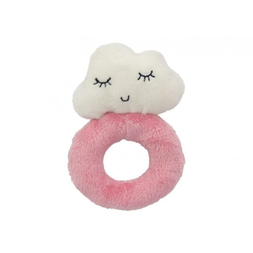 ANNABEL TRENDS | Pink Plush Cloud Rattle