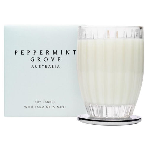 PEPPERMINT GROVE | Wild Jasmine & Mint Candle 350g