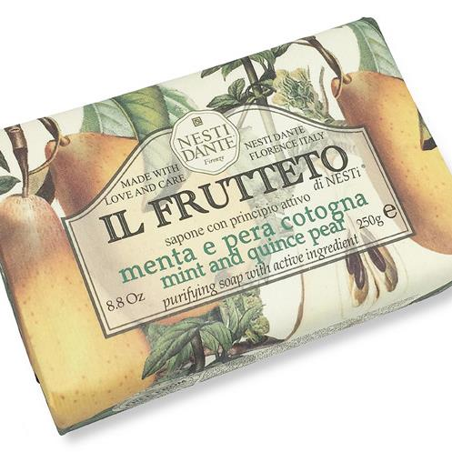 NESTI DANTE | Mint & Quince Pear Soap