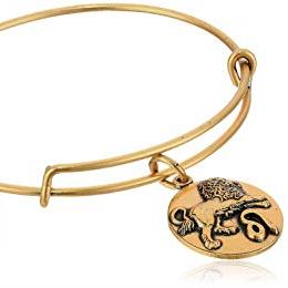 ALEX AND ANI | Zodiac - Leo Expandable Bracelet, Rafaelian Gold