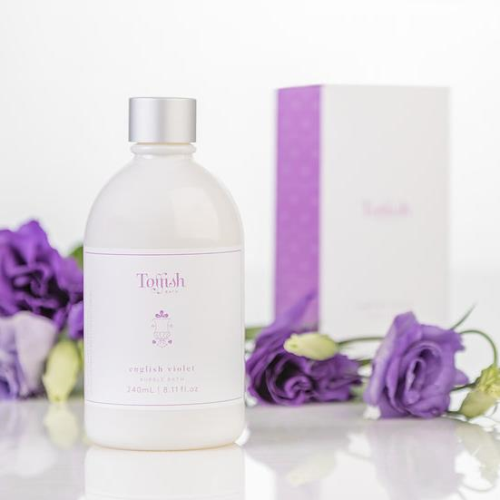 TOFFISH BATH | English Violet Bubble Bath 240ml