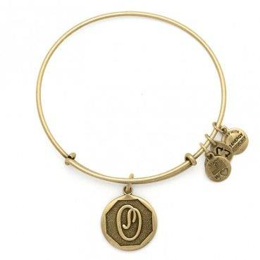 ALEX AND ANI | Initial O Expandable Bracelet, Rafaelian Gold