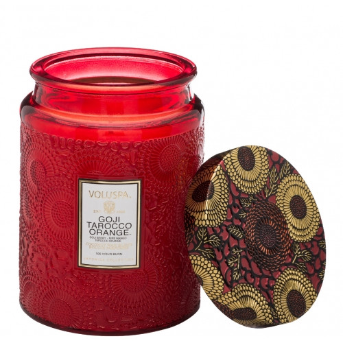 VOLUSPA | Goji Tarocco Orange 100hr Candle