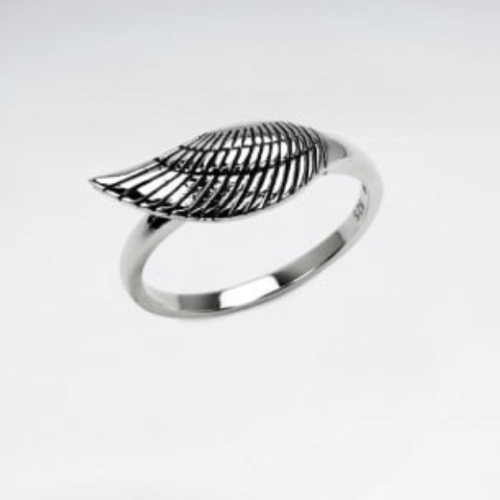 KAREN SILVER | Wing Ring - Medium