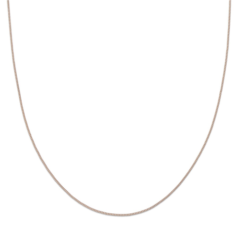 PALAS JEWELLREY | Rose Gold 40cm Fine Link Chain