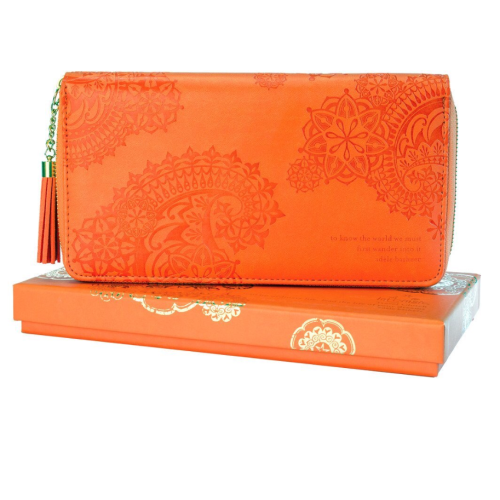INTRINSIC | Persimmon Travel Clutch