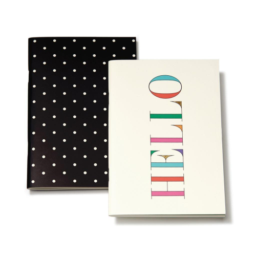 KATE SPADE | Hello & Deco Dots Notebook Set