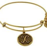 ALEX AND ANI | Initial X Expandable Bracelet, Rafaelian Gold