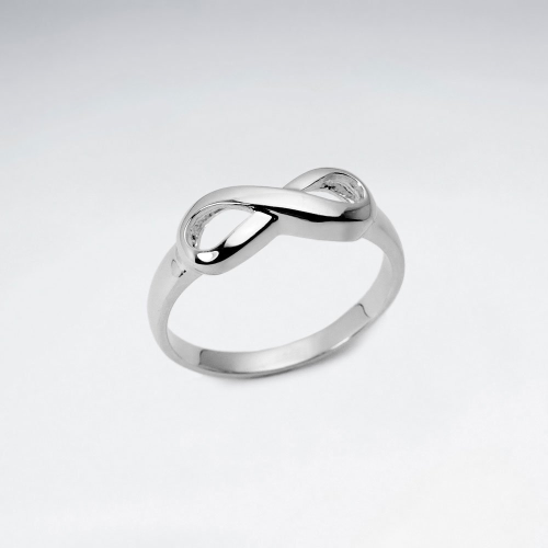KAREN SILVER | Infinity Ring - Small