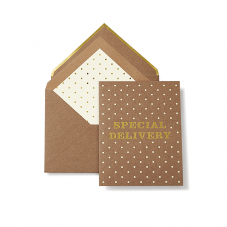 KATE SPADE | Special Delivery Greeting Card