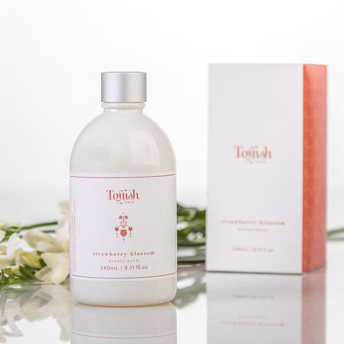 TOFFISH BATH | Strawberry Blossom Bubble Bath 240ml