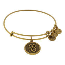 ALEX AND ANI | Initial B Expandable Bracelet, Rafaelian Gold