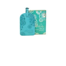 INTRINSIC l Tahitian Turquoise Luggage Tag
