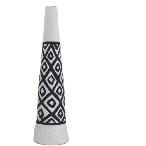 NF LIVING | Ester Tall Vase BLACK