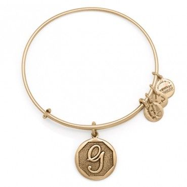 ALEX AND ANI | Initial G Expandable Bracelet, Rafaelian Gold