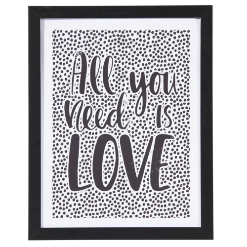 ALBI | All You Need is Love Wall Décor