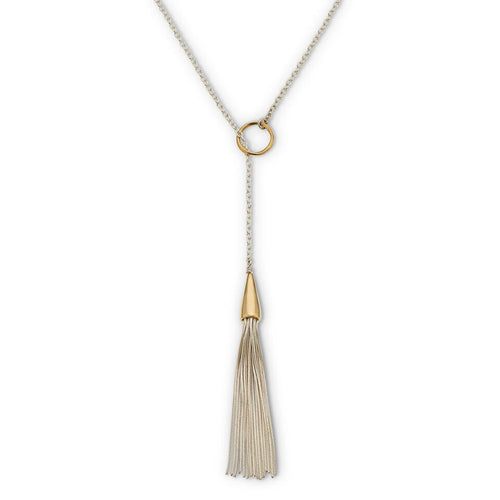 PALAS JEWELLERY | Mykonos Tassel Lariat Necklace