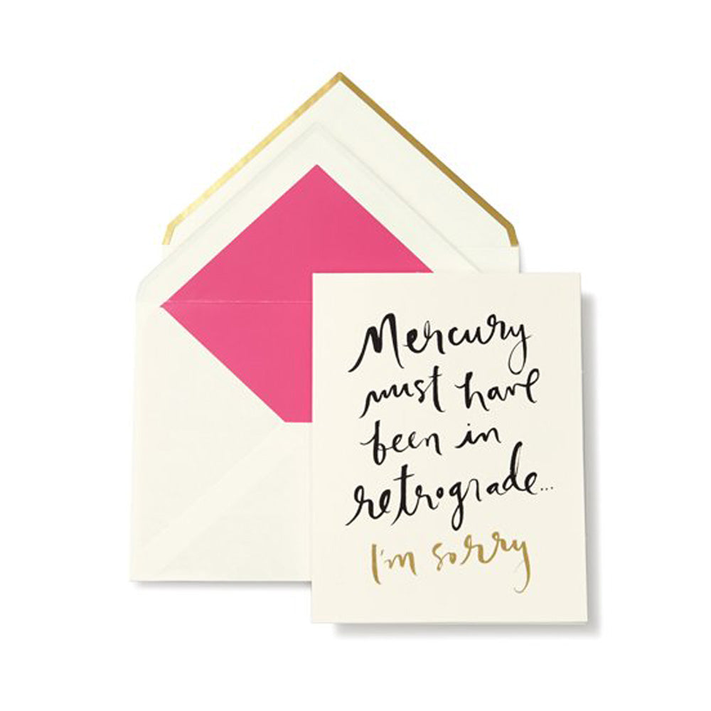 KATE SPADE | I'm Sorry Greeting Card